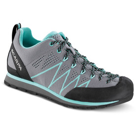 Scarpa Crux Air Chaussures Femme, smoke/ice green